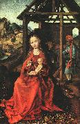 Martin Schongauer Nativity oil painting artist
